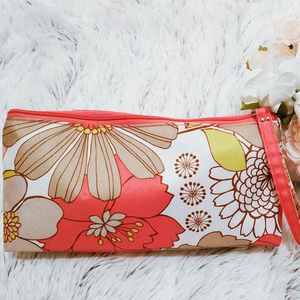 Clinique Cosmetic Bag Canvas Brand New